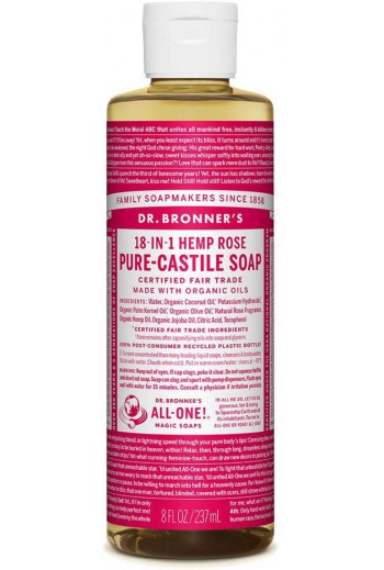 Pure-Castile Liquid Soap Rose
