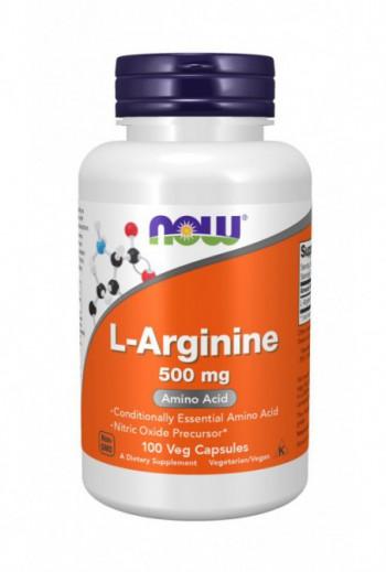 Now Foods Arginine 500mg,...