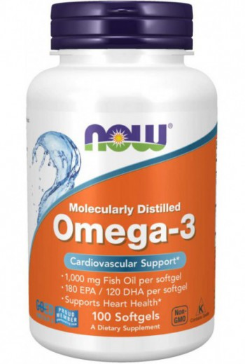 Now Foods Omega-3 1000mg,...