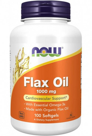 NOW Foods - Flax Oil 1000...